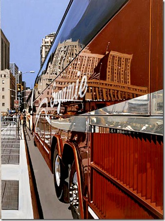 RICHARD ESTES - Tour Bus of the World Trade Center 2005