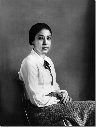 august sander -  Yvonne Estelle bailarina 1935