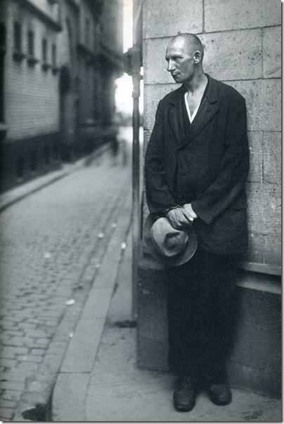 August Sander  - Desempleado