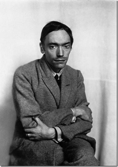 august-sander - Der Maler Franz Wilhelm Seiwert  Köln 1928