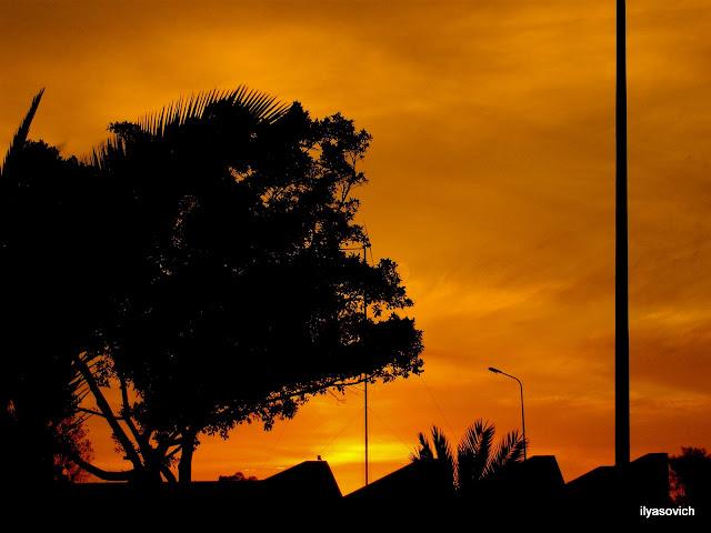 Coucher du soleil et Crépuscule urbains DSCF7345