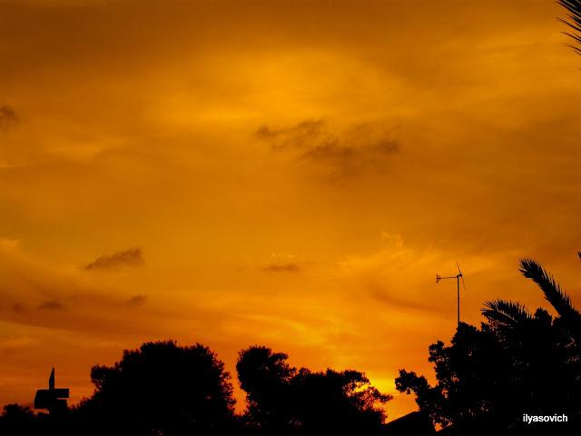Coucher du soleil et Crépuscule urbains DSCF7344