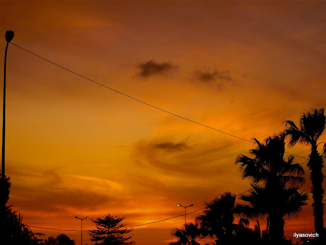 Coucher du soleil et Crépuscule urbains DSCF7351