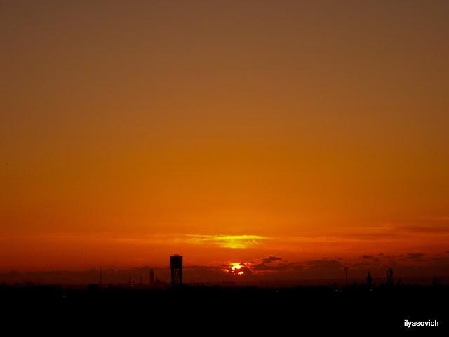 Coucher du soleil et Crépuscule urbains DSCF7359