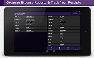 Screenshot of Smart Receipts PRO [No Ads]