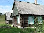 veca Slutišķu māja ar satelītu