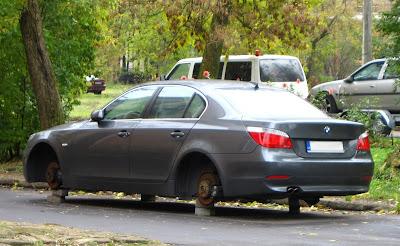BMW bez riteņiem