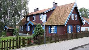 Tipiska mājas krāsu palete Nidā