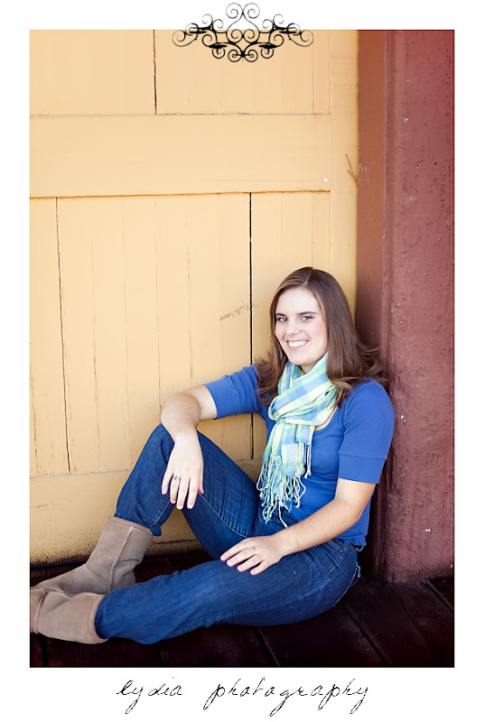 Emi's senior pictures at Colfax California