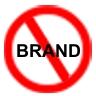 No branding for me