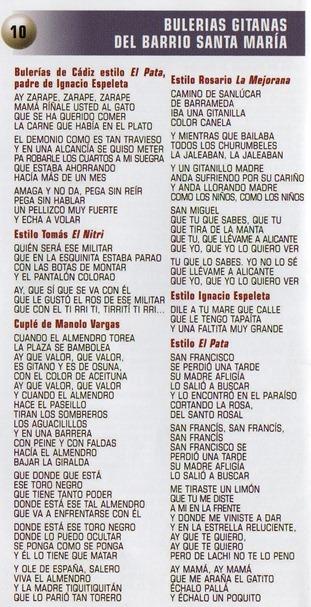 Carmen de la Jara-Tesoros del Cante Antiguo Gaditano (libreto14-15)