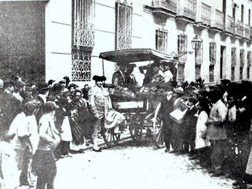 Mazzantini saliendo para la plaza (20-10-1901) 001