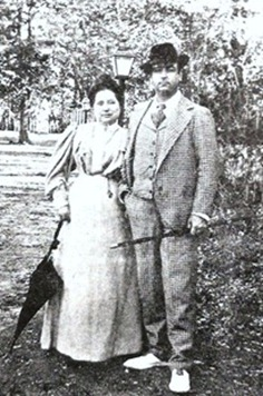 Mazzantini y esposa Concepcion Lazaro_thumb[2]