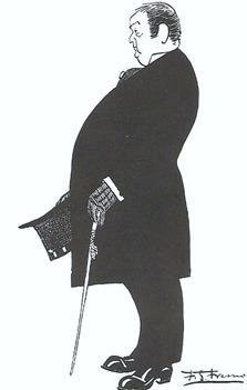 Mazzantini Caricatura Fresno Concejal Madrid (Junio 1909-Los  toros)