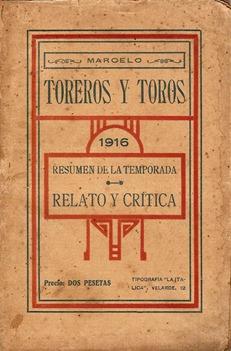 Toros y toreros 1916 001