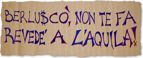 Silvio Berlusconi a L'Aquila