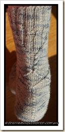 Orzival Socks - heel-back leg