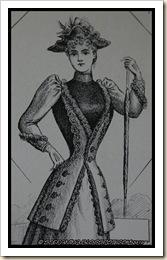 Le Goût Parisien 1891 - Redingote sur Robe