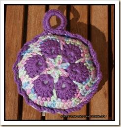 african flower - lavender sachet