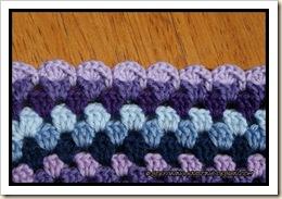 Granny Mandala Cushion - border close-up