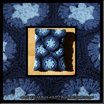 pochette bleue montage