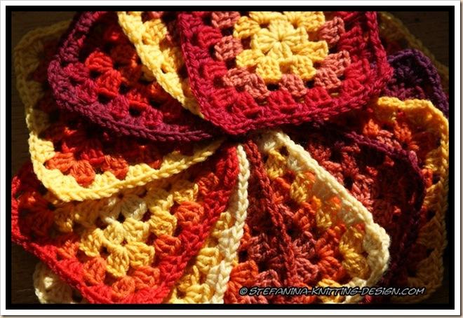 Rainbow granny red