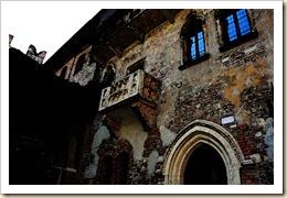 El famoso balcón de Julieta