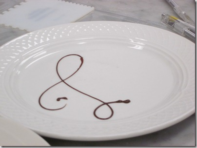 We each had to make 8 plates with this u201cLu201d design and each had to be approved before we could use them for service. Next she showed us how to make ... & Piping and Plating. - Daily Garnish