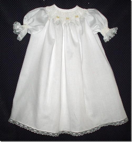 white baby dress b