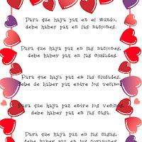 Poesía de la Paz