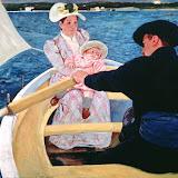 El paseo en barca