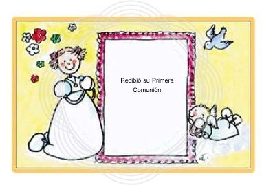 Primera comunion recordatorios para imprimir de la primera comunion - Recordatorios de comunion para imprimir ...
