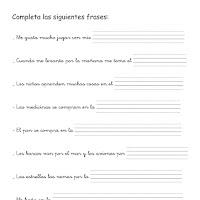 Completar frases