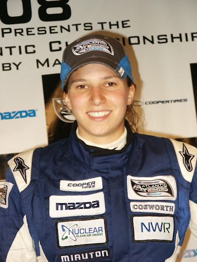 herself as one of racing