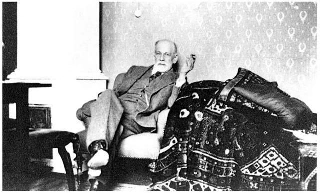Sigmund Freud, 1920.