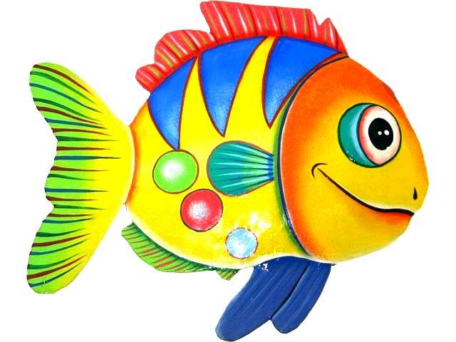 Dibujos de peces multicolor - Dibujos infantiles para imprimir pintados ...
