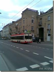 Trólei em Vilnius