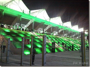 Exterior do estádio