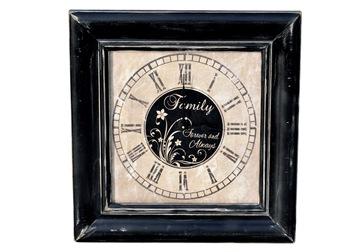 Family Clock 4x6