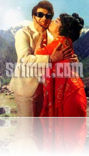 MGR and manjula for the song Lily malaruku