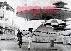 MGR and Chandrakala in Expo70