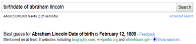 google search significant dates