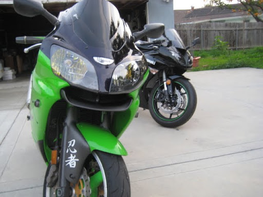 kawasaki ninja zx6r monster edition. Checking in my ZX6R 09 Monster