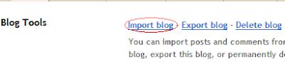 Cara mengirim atau import posting