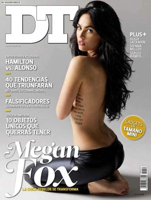 Megan-Fox-Semi-Naked-DT-Magazine