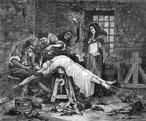 Waterboarding Middle Ages