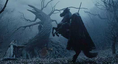 folktales of the headless horse man The legends of the headless horseman come out of ireland there, known as gan  ceann, (headless), or dullahan, he would take the soul of.