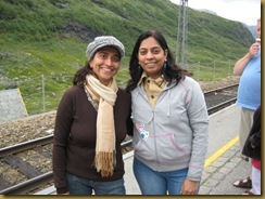 At Myrdal...waiting for the Flam