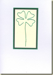 four leaf clover wire