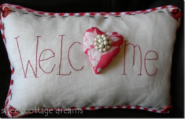 judy's pillow welcome